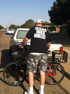 Homeless Jesus shirt II